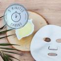 Concentré anti-tâches pour masque en tissu
