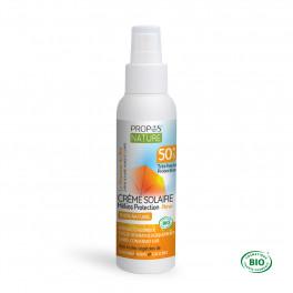 Crème Solaire BIO SPF 50+ Très haute protection Helios