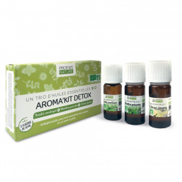 Aroma'kit Detox - 3 huiles essentielles