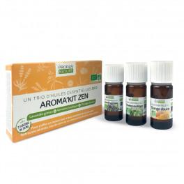 Aroma'kit Zen - 3 huiles essentielles bio