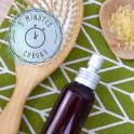 Spray de coiffage hydratant