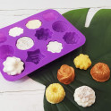 Planche de moule à savon en silicone - Foli'Flora