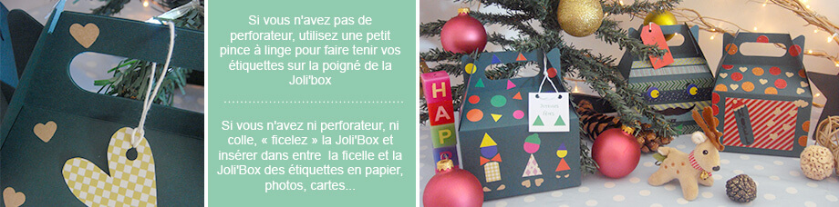 DIY emballage Noel