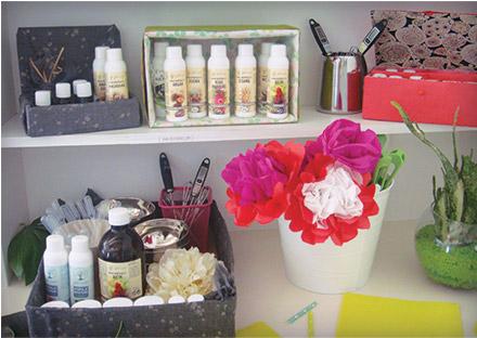 Diy boites cadeaux et rangement pour vos cosm tiques - Boite en carton decoree ...
