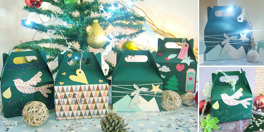 astuce pour décorer vos emballages cadeaux