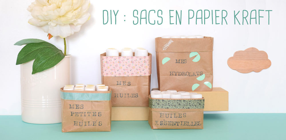 Top DIY : Sacs en papier Kraft - Joli'Essence UP27