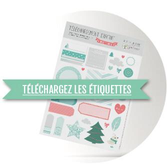 Bien connu DIY de Noël : les Printable - Joli'Essence IH96