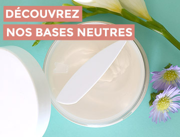 base cosmétique neutre bio