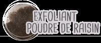 exfoliant cosmétique bio