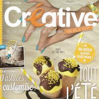 publication joliessence dans le magazine creative