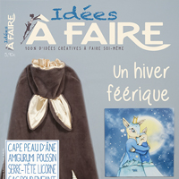 publication joliessence dans le magazine idées à faire