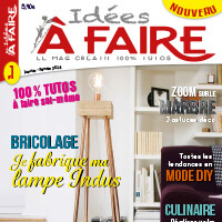 publication joliessence dans le magazine idees a faire