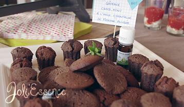 recette gateau chocolat et huile essentielle de menthe poivrée