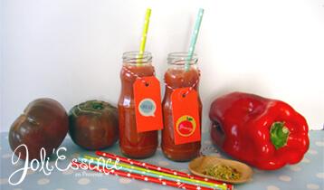 recette gaspacho à l'huile d'inci inchi