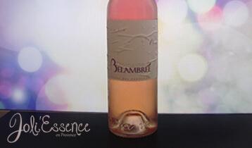 vin rosé aromatisé à l'huile essentielle d'orange