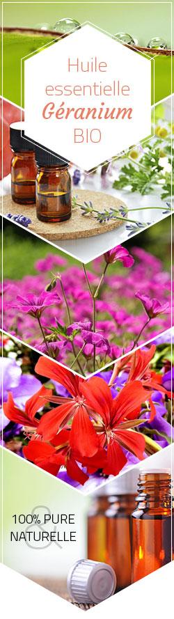 huile essentielle geranium bio