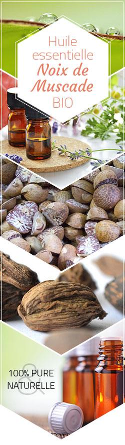 huile essentielle noix de muscade bio