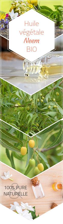 huile végétale neem bio