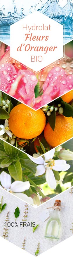 hydrolat de fleurs d'oranger bio (citrus aurantium) - 100 ml