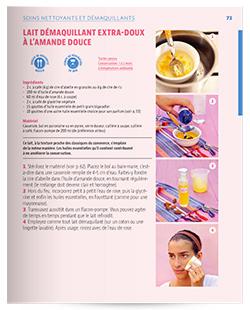 recette lait demaquillant