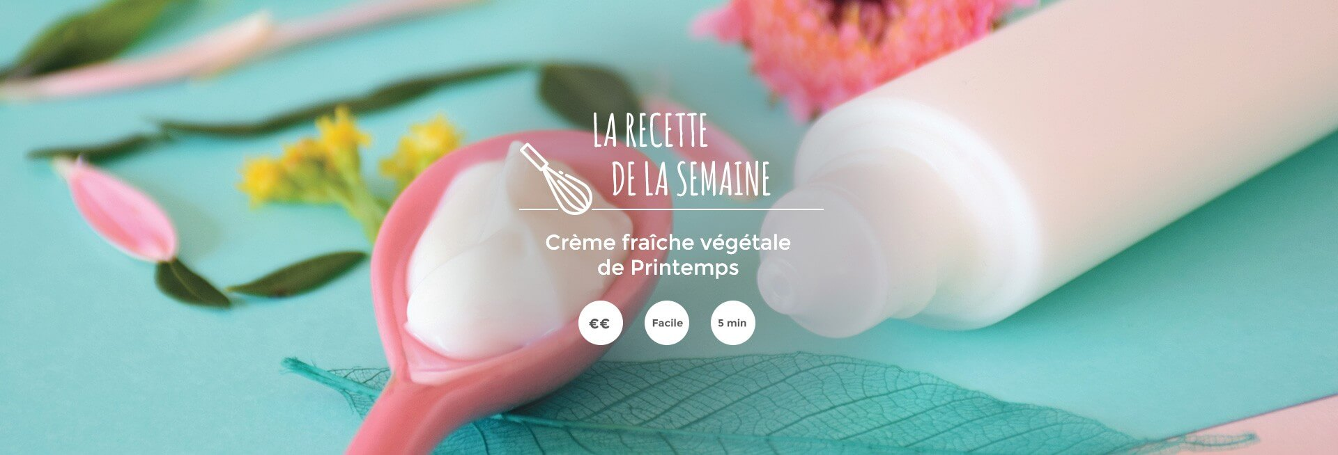 Crème fraîche végétale de Printemps