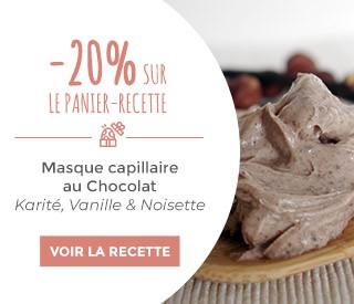 promotion recette masque cheveux au cacao