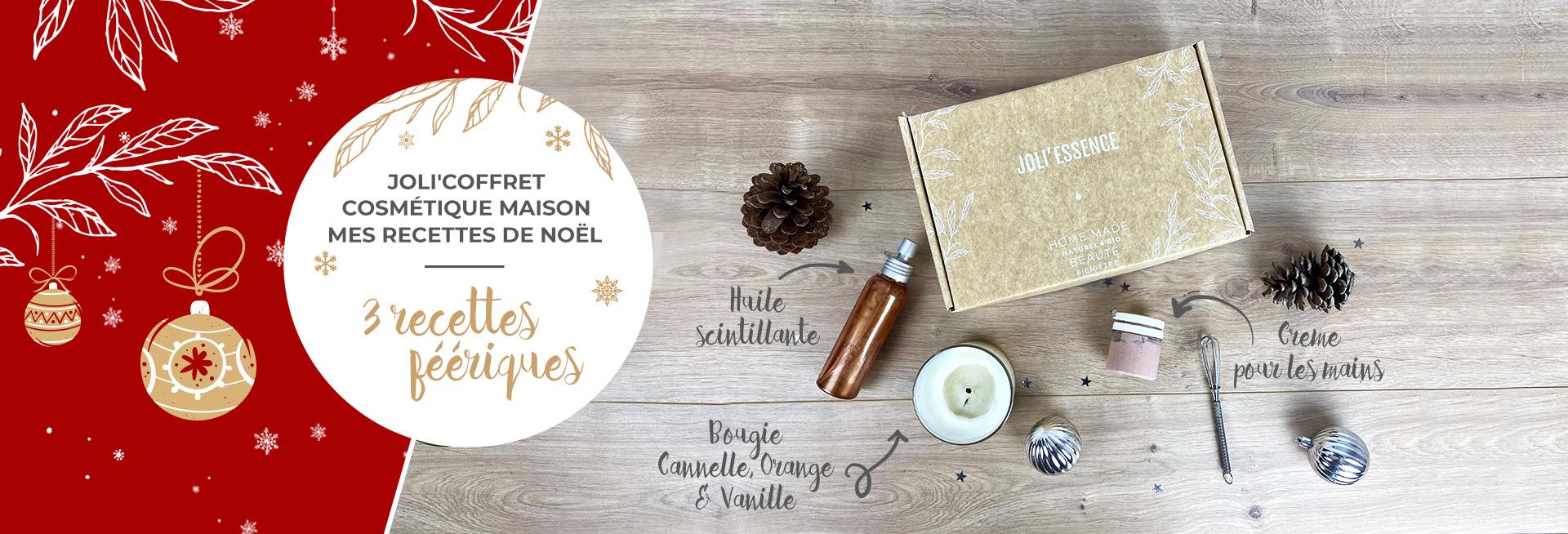 Coffret de Noël - 3 recettes féériques