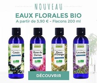 Nouveau : eaux florales
