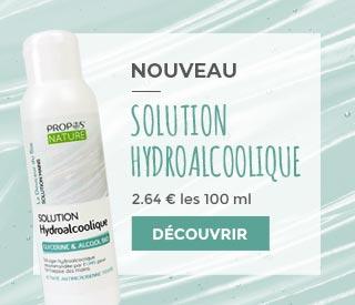 SOLUTION HYDROALCOOLIQUE - 100 ML