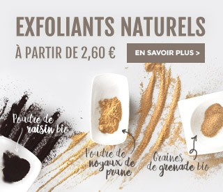 Exfoliants naturels