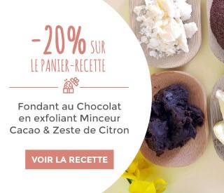 recette Fondant au Chocolat en exfoliant Minceur