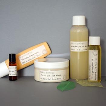 etiquette pour cosmetique maison