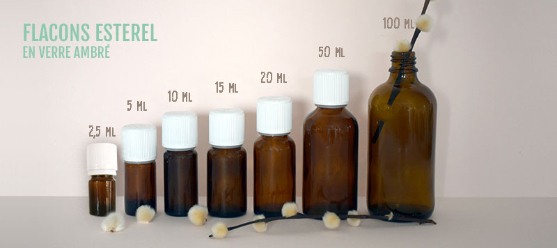 flacon d'aromatherapie