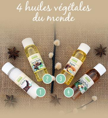 box d'huiles végétales indispensables en phytothérapie