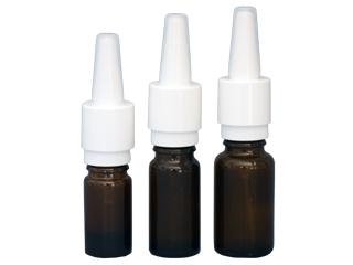 flacon avec spray nasal