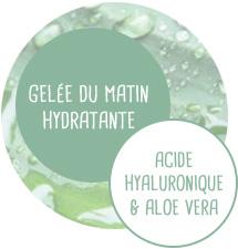 Gelée du matin Hydratante - Aloe vera et Acide hyaluronique