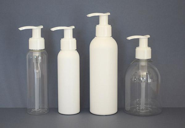 flacon avec pompe savon